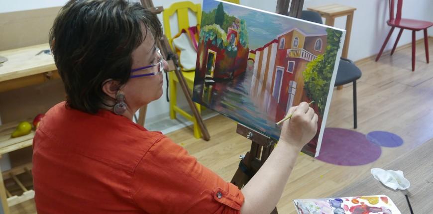 10. Юнити Академия - Академично рисуване живопис