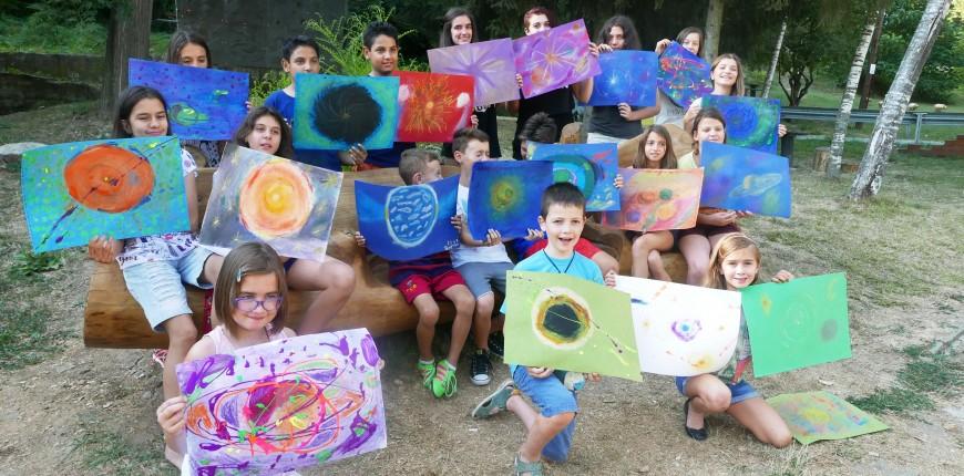 15. Юнити Академия - детски летен лагер - рисуване