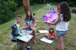 25. Юнити Академия - детски летен лагер - рисуване